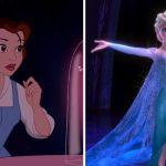 Perché le principesse Disney indossano sempre abiti blu